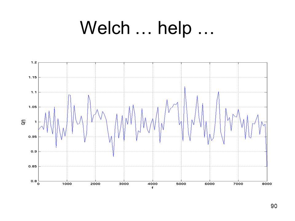 Welch … help … 90