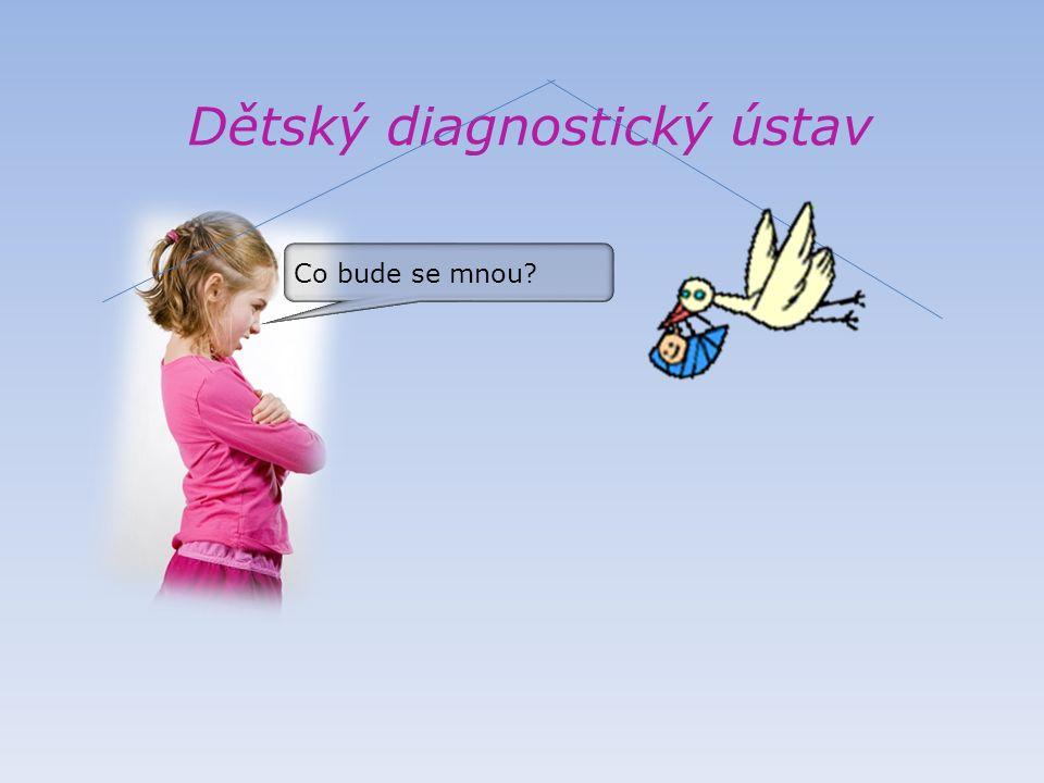 Dětský diagnostický ústav Neboj, zde si tě převezmou lékaři, najdou ti náhradní domov.