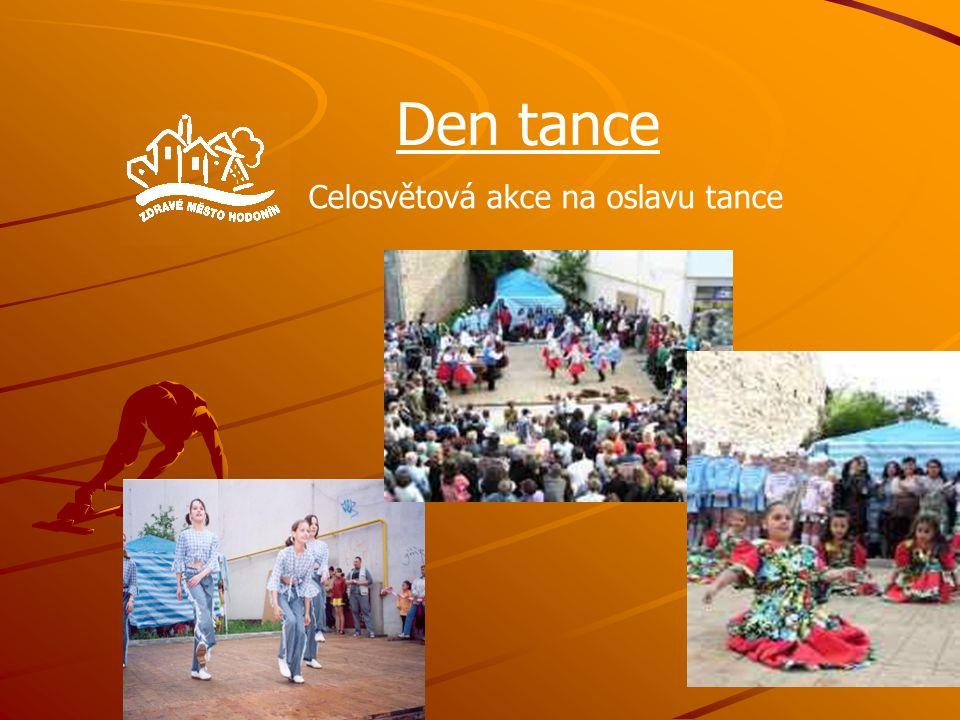 Den tance Celosvětová akce na oslavu tance