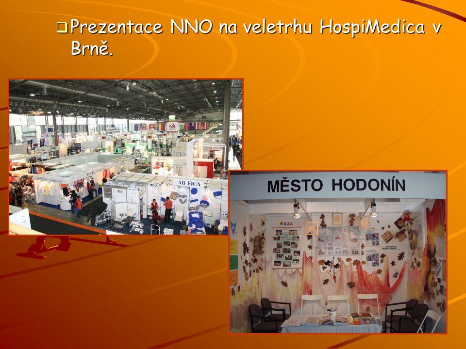  Prezentace NNO na veletrhu HospiMedica v Brně.