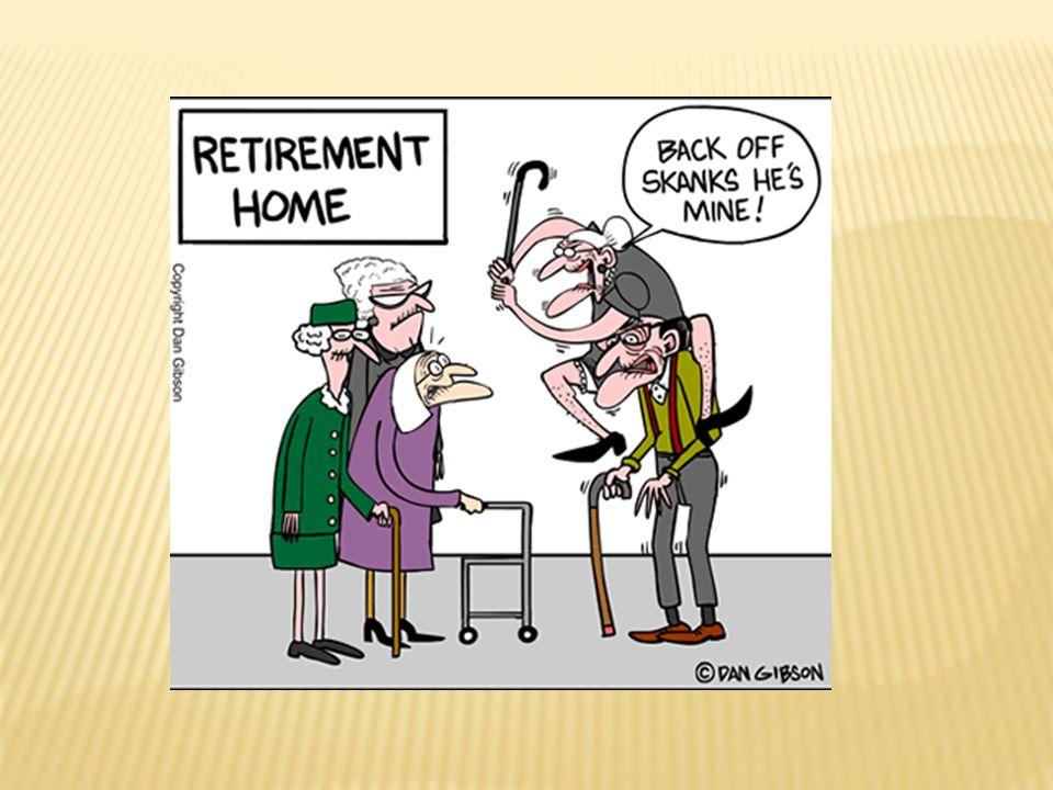  profese: v období raného stáří odchází většina lidí do důchodu; různé přijímání nové sociální role (úleva vs.