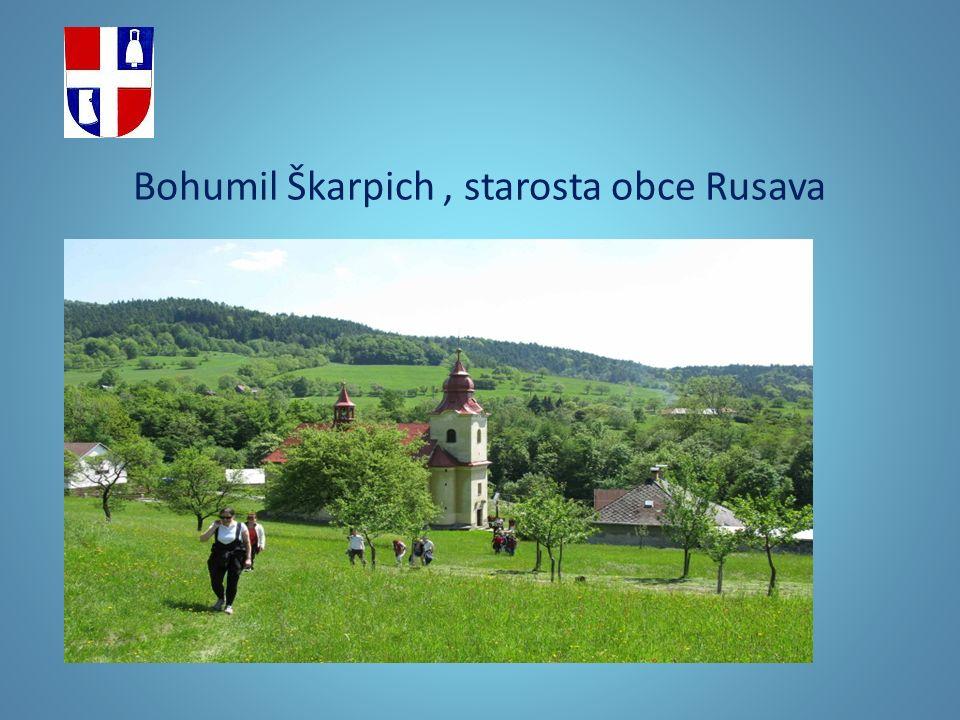 Bohumil Škarpich, starosta obce Rusava