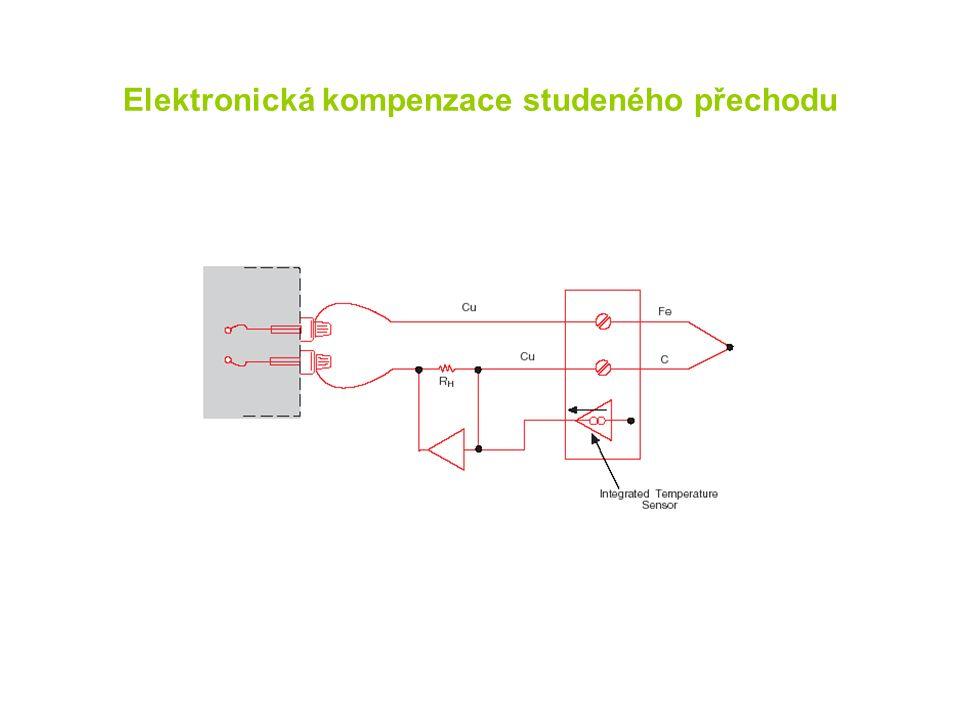 Elektronická kompenzace studeného přechodu