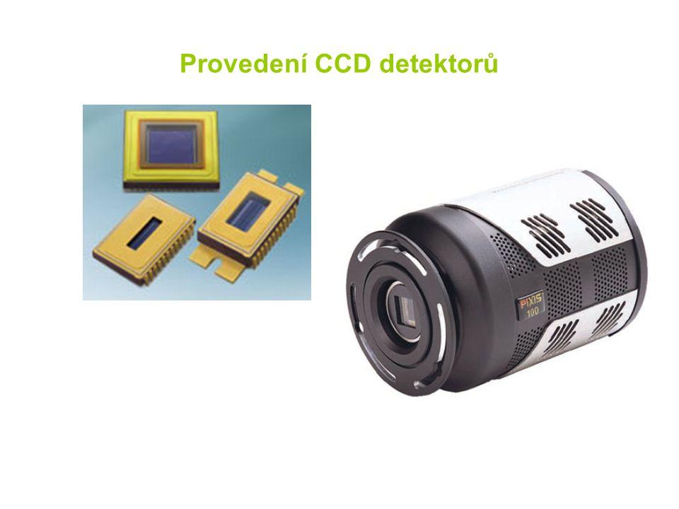 Provedení CCD detektorů