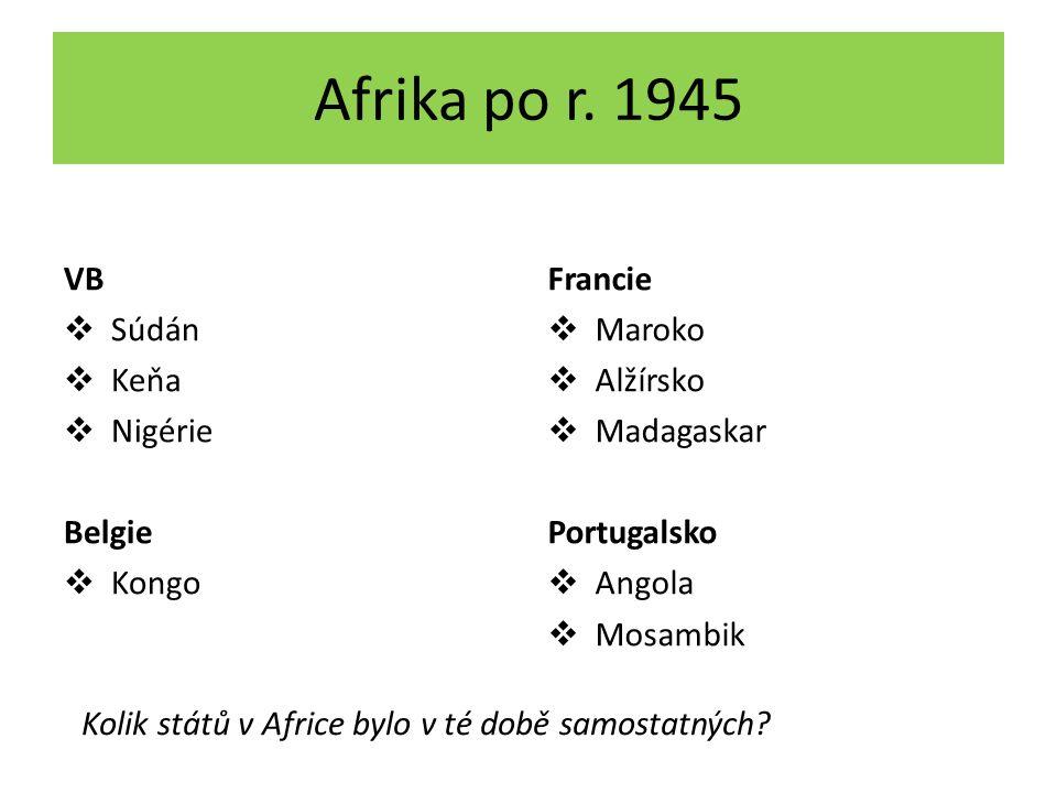 Afrika po r.