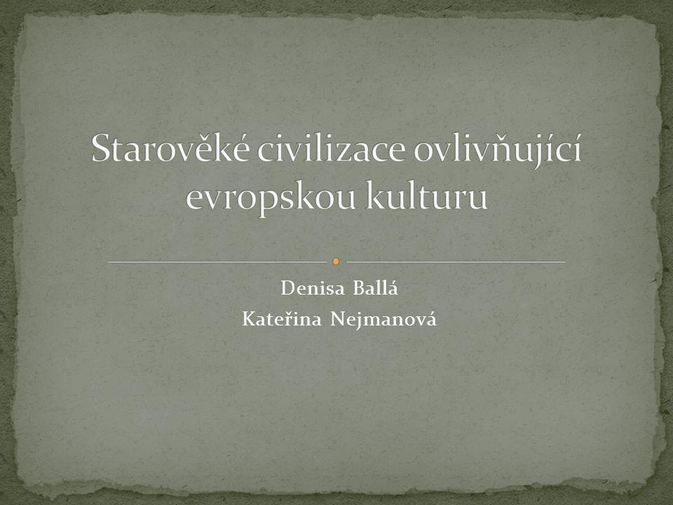 Denisa Ballá Kateřina Nejmanová
