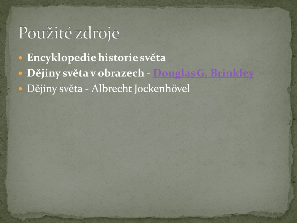 Encyklopedie historie světa Dějiny světa v obrazech - Douglas G.