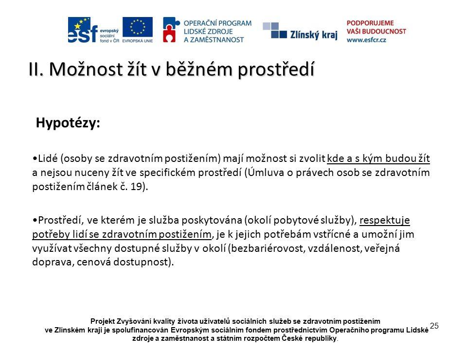Projekt Zvyšování kvality života uživatelů sociálních služeb se zdravotním postižením ve Zlínském kraji je spolufinancován Evropským sociálním fondem prostřednictvím Operačního programu Lidské zdroje a zaměstnanost a státním rozpočtem České republiky.