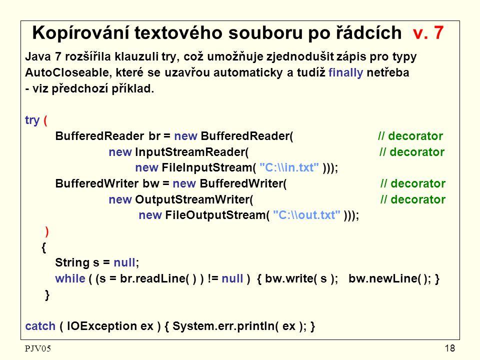 PJV05 18 Kopírování textového souboru po řádcích v.