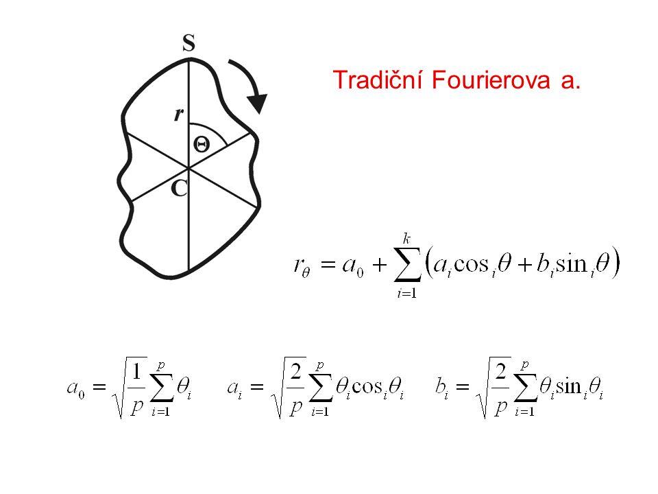Tradiční Fourierova a.