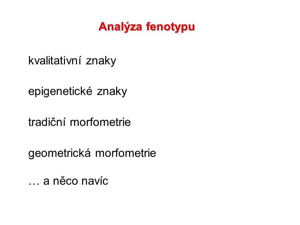 mendelovská dědičnost, 1- málo genů mutace u D.