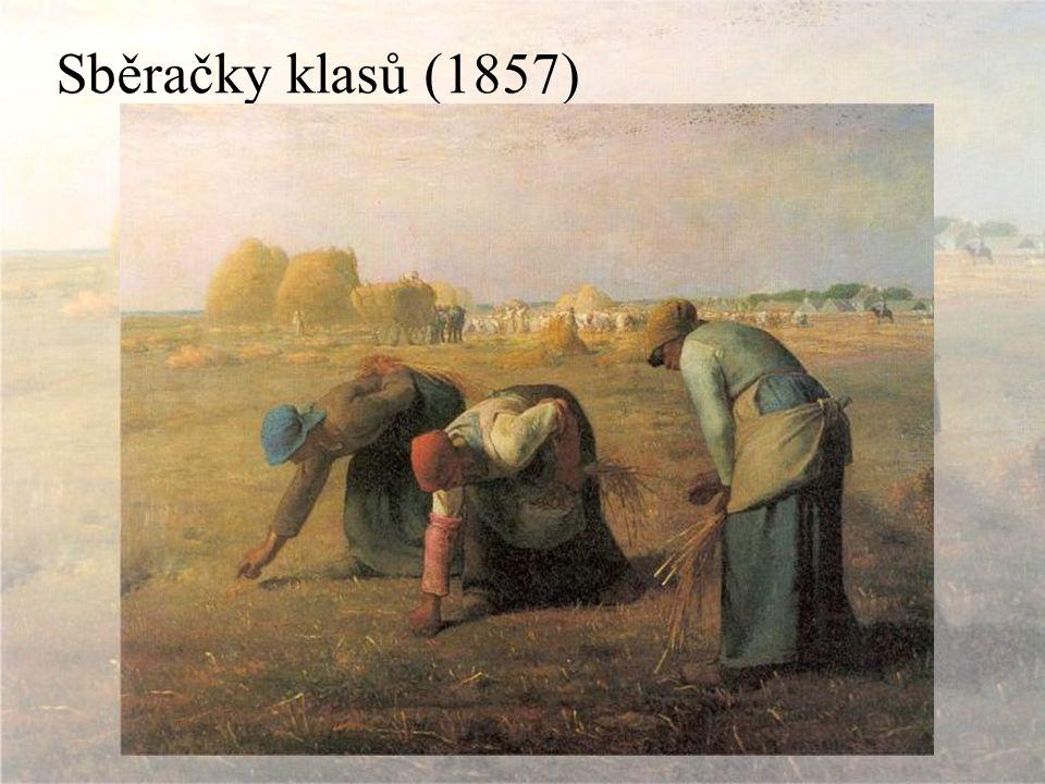Sběračky klasů (1857)
