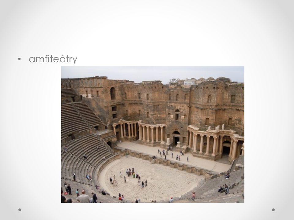 amfiteátry