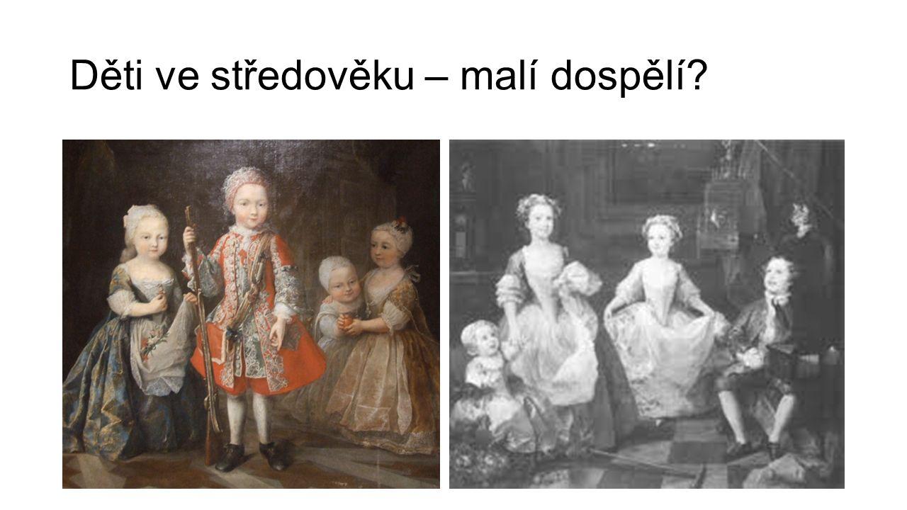 Děti ve středověku – malí dospělí