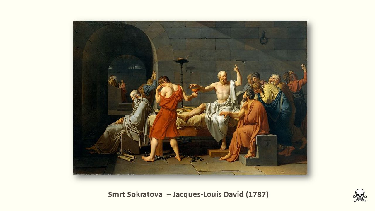 Smrt Sokratova – Jacques-Louis David (1787)