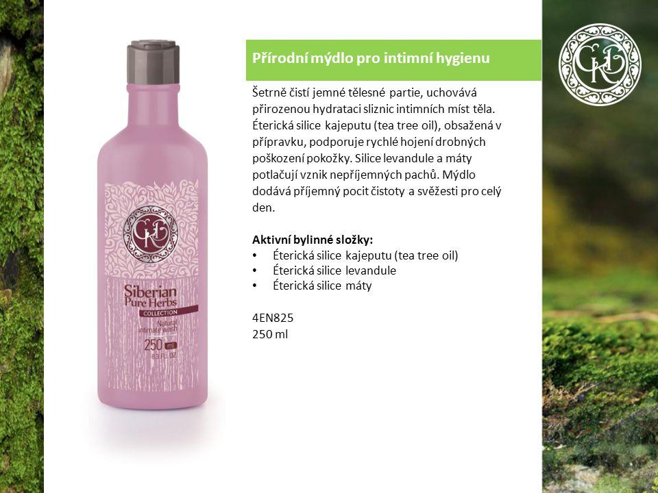 Přírodní mýdlo pro intimní hygienu Šetrně čistí jemné tělesné partie, uchovává přirozenou hydrataci sliznic intimních míst těla.