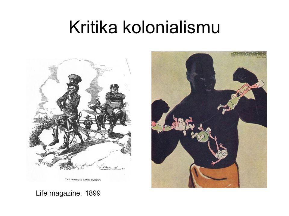 Kritika kolonialismu Life magazine, 1899