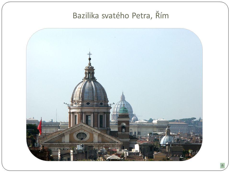 19 Bazilika svatého Petra, Řím 1