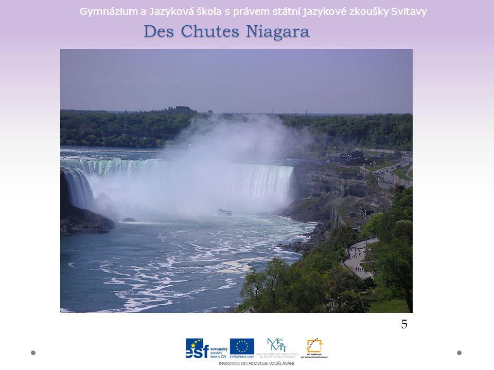 Gymnázium a Jazyková škola s právem státní jazykové zkoušky Svitavy Des Chutes Niagara 5