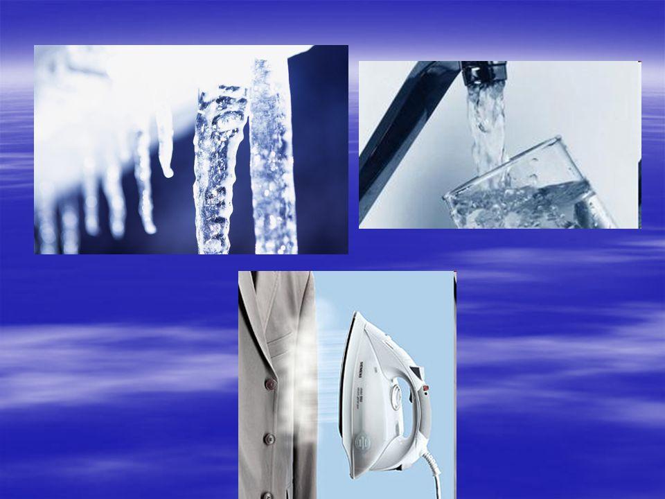 Otázky 1.Jak se nazývají tři skupenství vody.