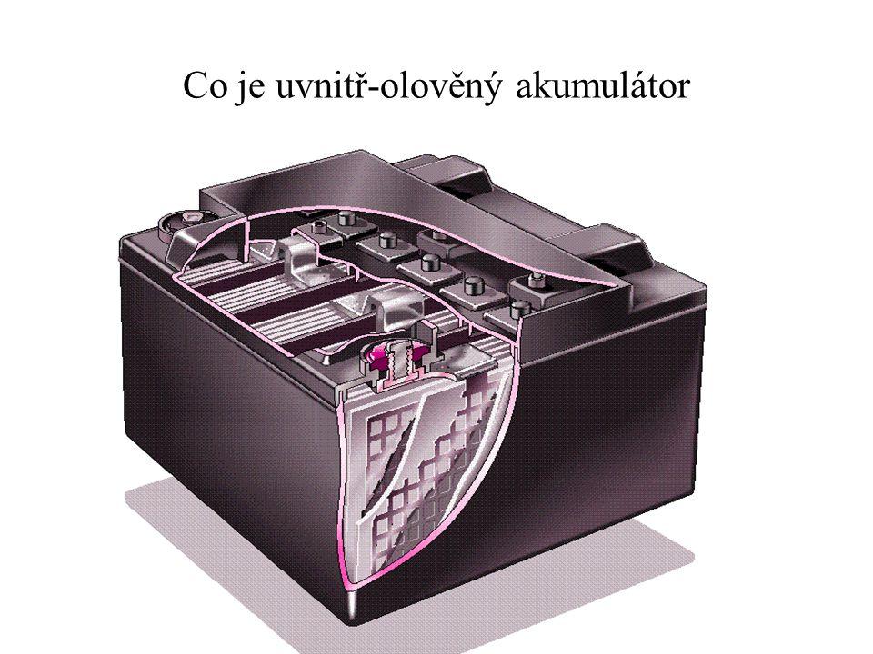 Co je uvnitř-olověný akumulátor