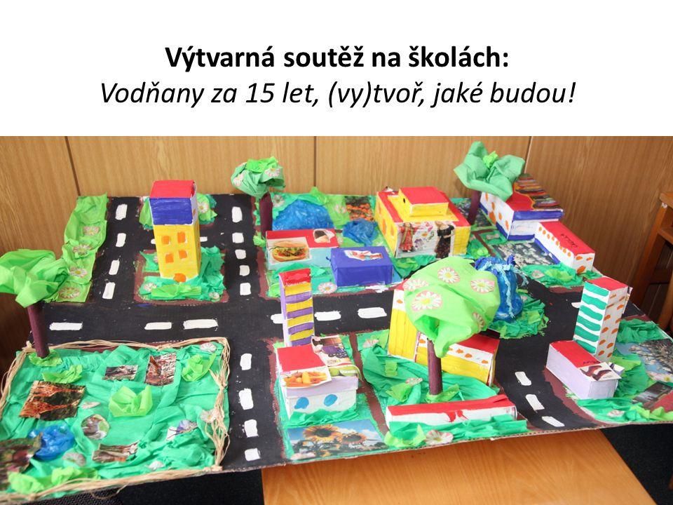 Výtvarná soutěž na školách: Vodňany za 15 let, (vy)tvoř, jaké budou!