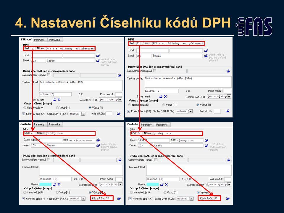 Návody PDP +1640 Přenesená daňová povinnost (fakturace ze zásob) +1689 Přenesená daň.