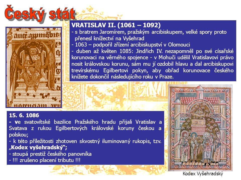 Kodex Vyšehradský VRATISLAV II.
