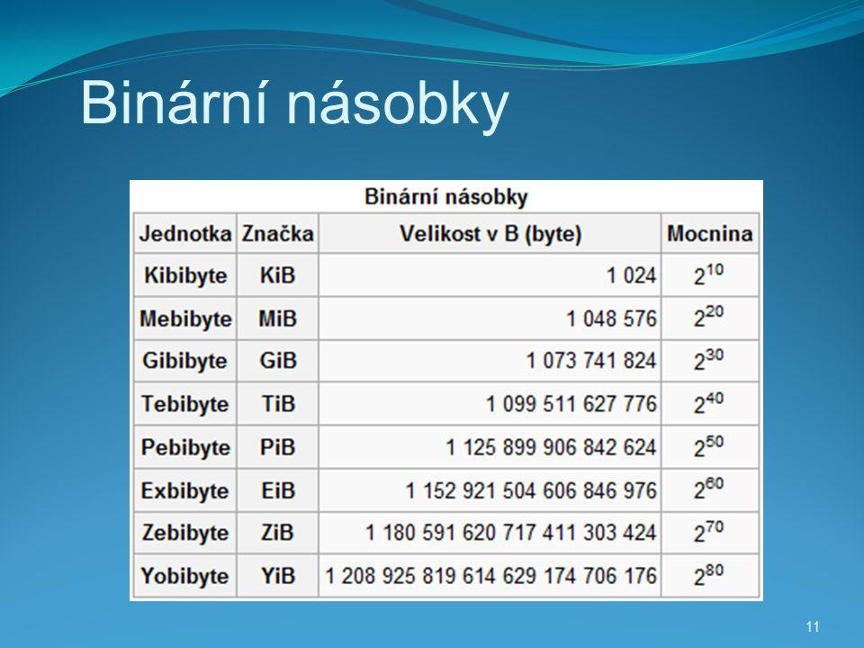 11 Binární násobky