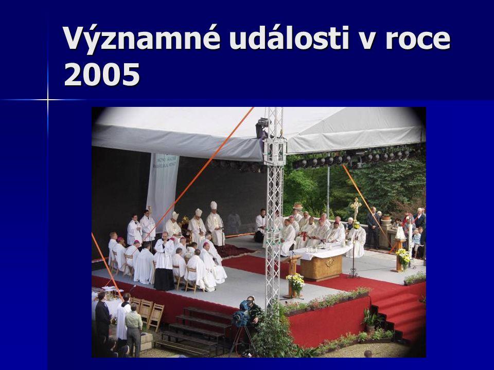 Významné události v roce 2005