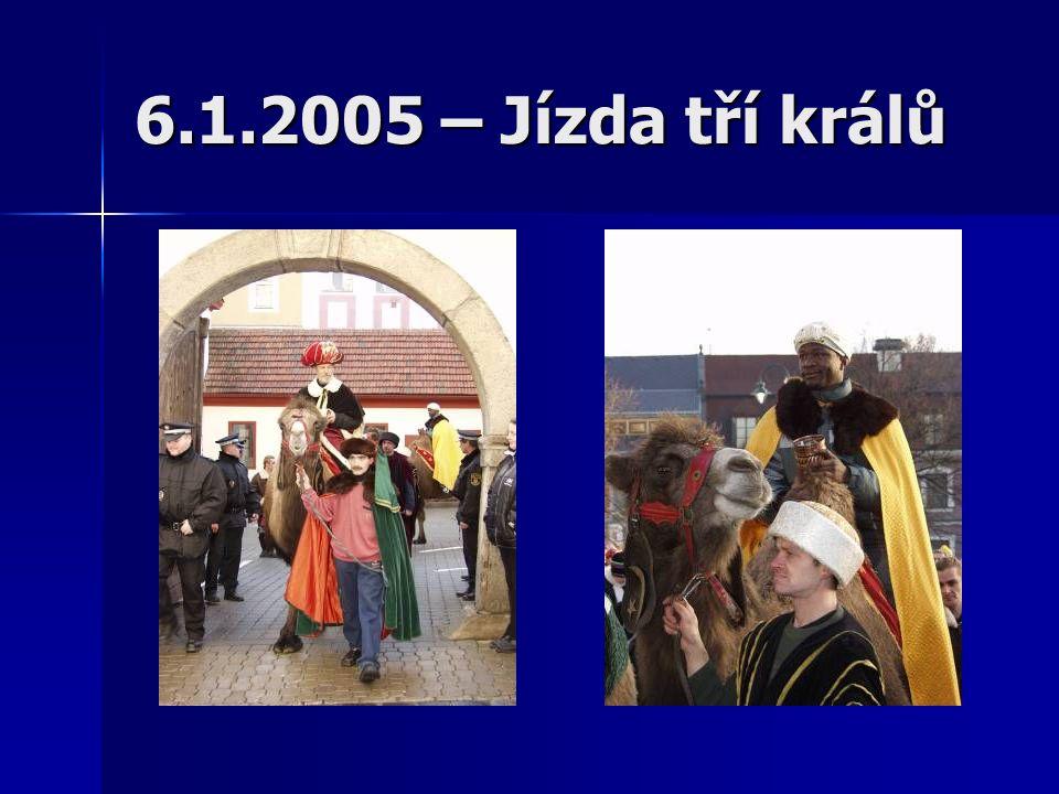 6.1.2005 – Jízda tří králů