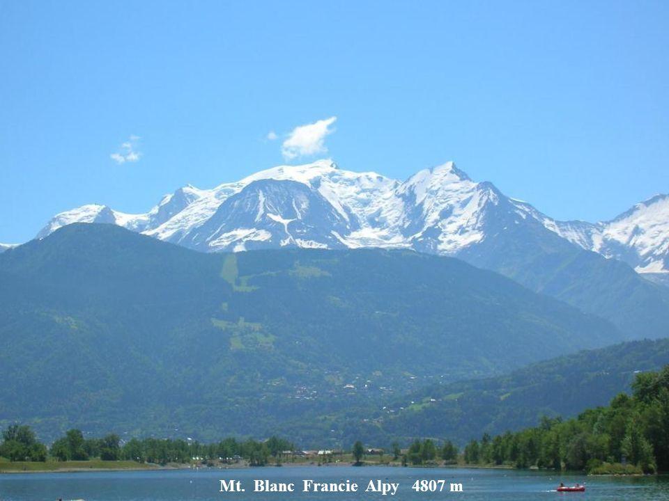 Matterhorn Švýcarsko Alpy 4481 m