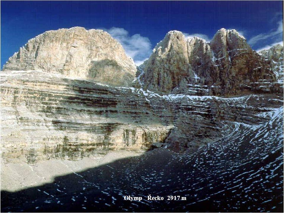 Vesuv Itálie 1281 m