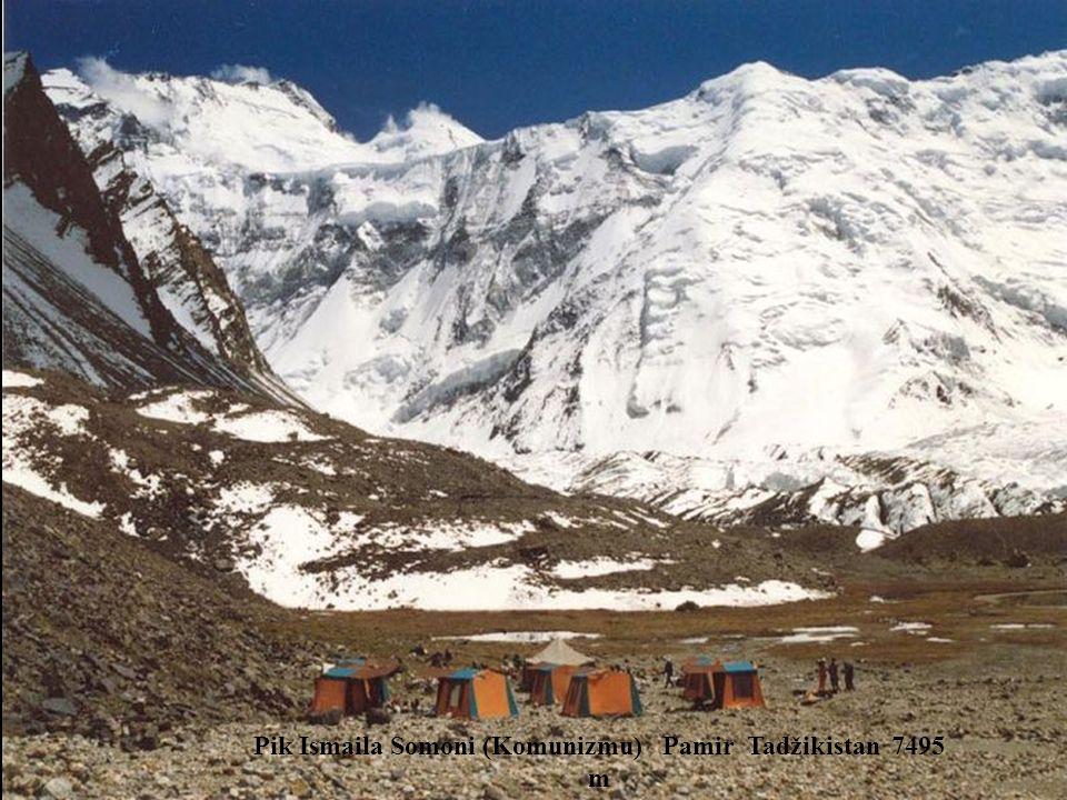 Pik Pobedy Tianshan Kirgistan 7439 m