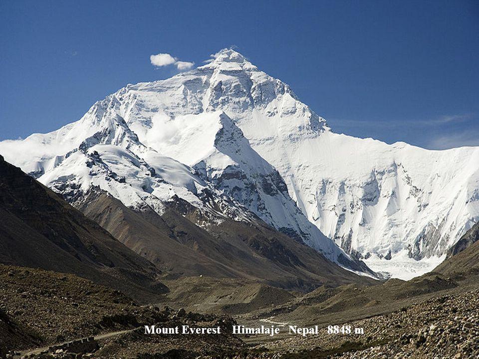 Anapurna Himalaje Nepal 8091 m