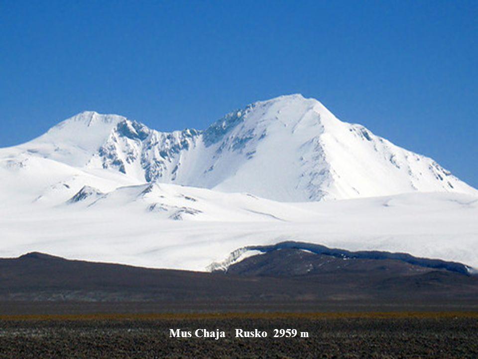 Sopka Ključevskaja Kamčatka 3342 m