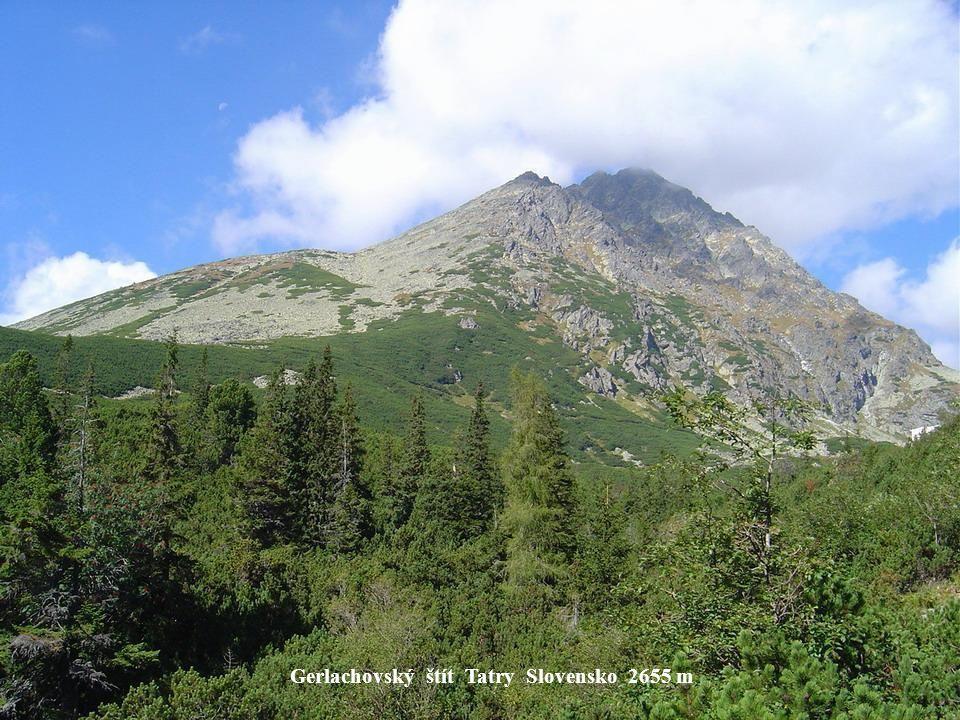 Gerlachovský štít Tatry Slovensko 2655 m