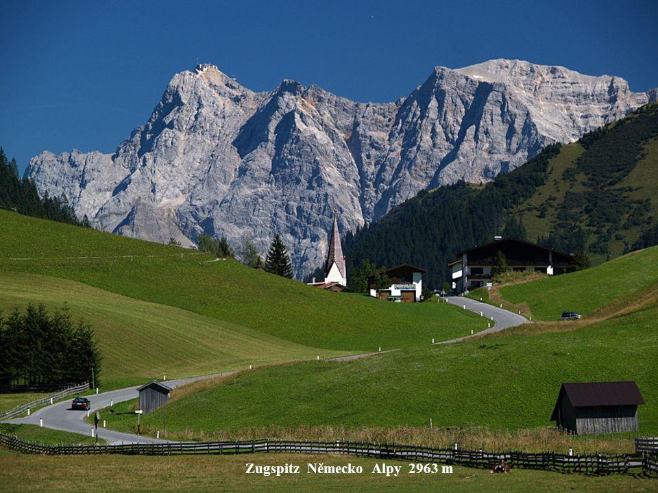 Zugspitz Německo Alpy 2963 m