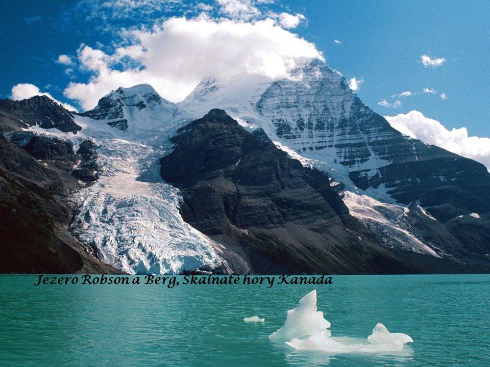 Jezero Robson a Berg, Skalnaté hory Kanada