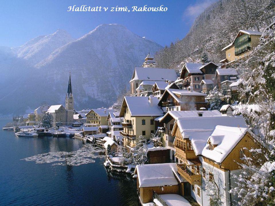 Hallstatt v zim ě, Rakousko