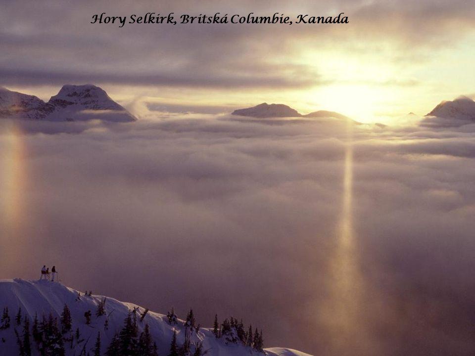 Hory Selkirk, Britská Columbie, Kanada