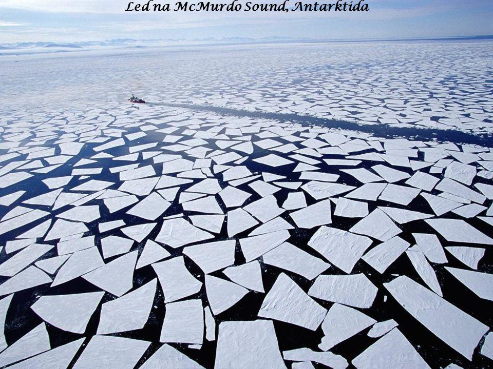 Led na McMurdo Sound, Antarktida
