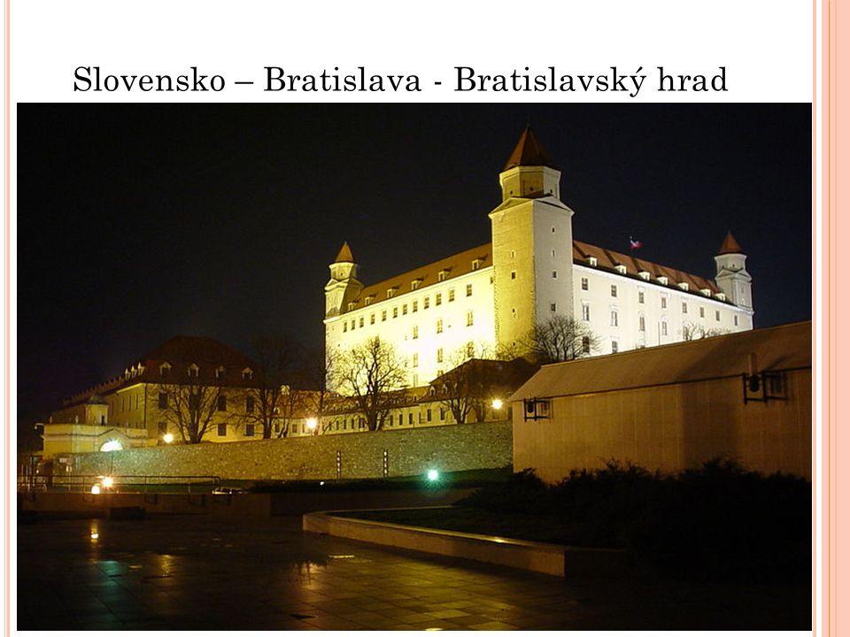 Slovensko – Bratislava - Bratislavský hrad