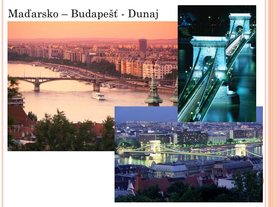 Maďarsko – Budapešť - Dunaj