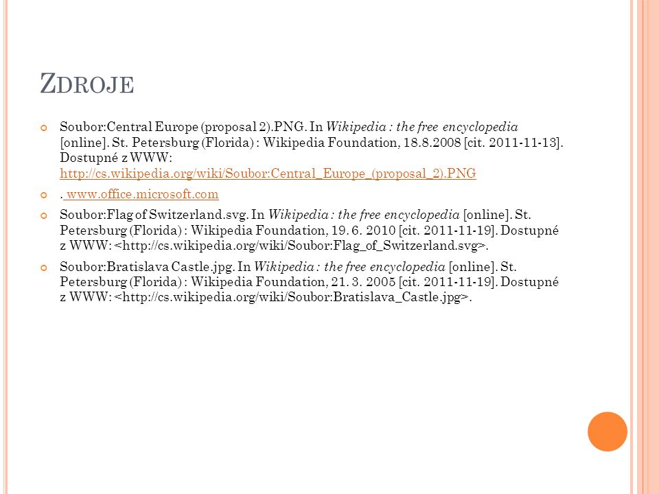 Z DROJE Soubor:Central Europe (proposal 2).PNG. In Wikipedia : the free encyclopedia [online]. St. Petersburg (Florida) : Wikipedia Foundation, 18.8.2