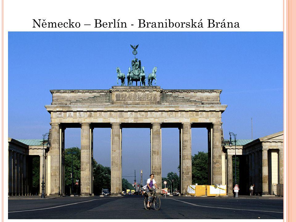 Německo – Berlín - Braniborská Brána