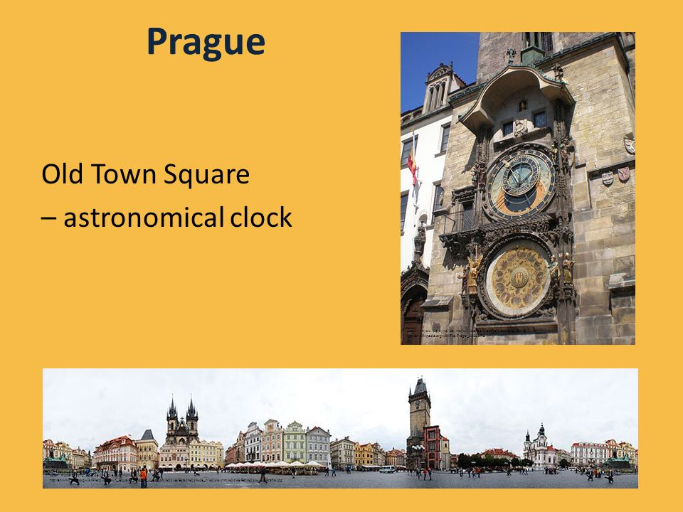 Prague Old Town Square – astronomical clock Autor: Robert Young, licence Creative Commons, BY-SA http://en.wikipedia.org/wiki/File:Old_Town_Square,_Pr