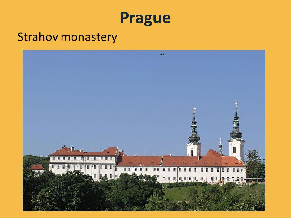 Prague Strahov monastery Autor: Matěj Baťha, licence Creative Commons, BY-SA http://en.wikipedia.org/wiki/File:Praha,_Hradcany_-_Strahovsky_klaster_(pohled_z_ulice_Uvoz).jpg