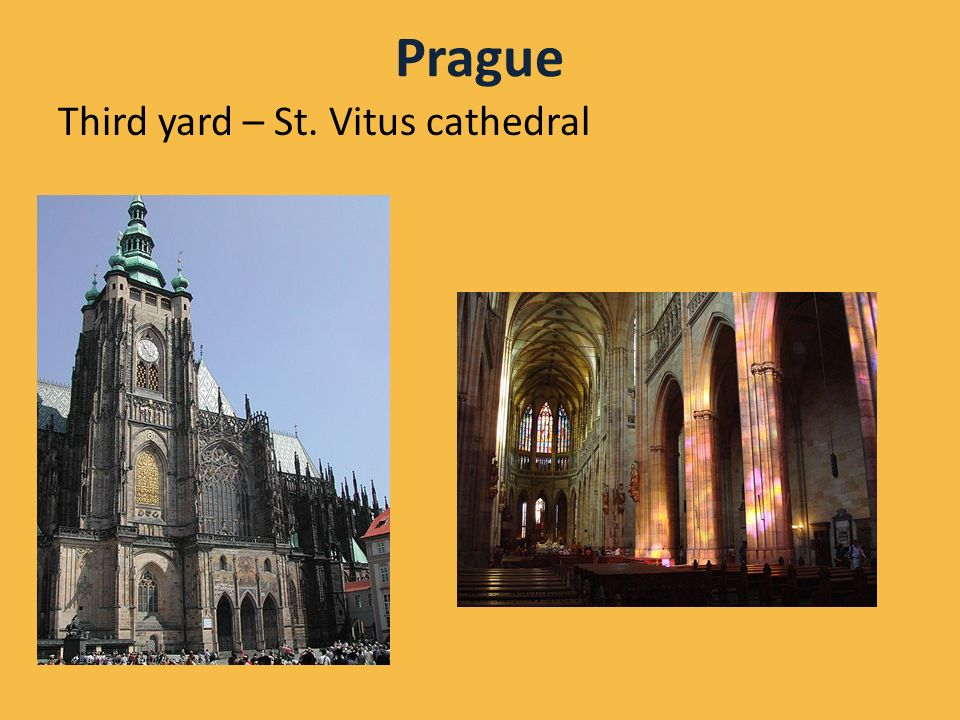 Prague Third yard – St.