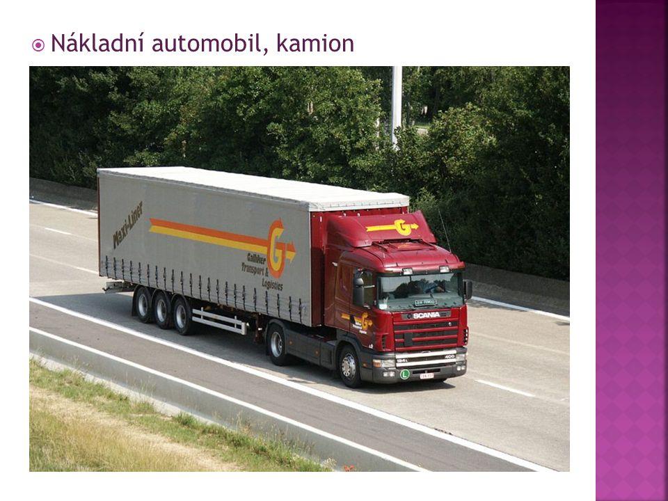  Nákladní automobil, kamion